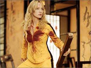 "Cena do filme ""Kill Bill"""