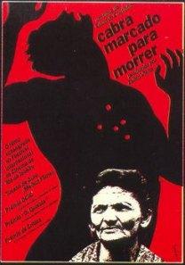 """Cartaz do filme """"Cabra marcado para Morrer"""", de Eduardo Coutinho."""